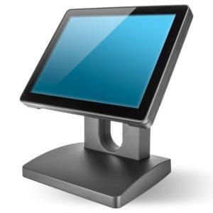 Kassendisplay - Kassenhardware 12 Zoll Bildschrim in grau-schwarz für das Kassensystem