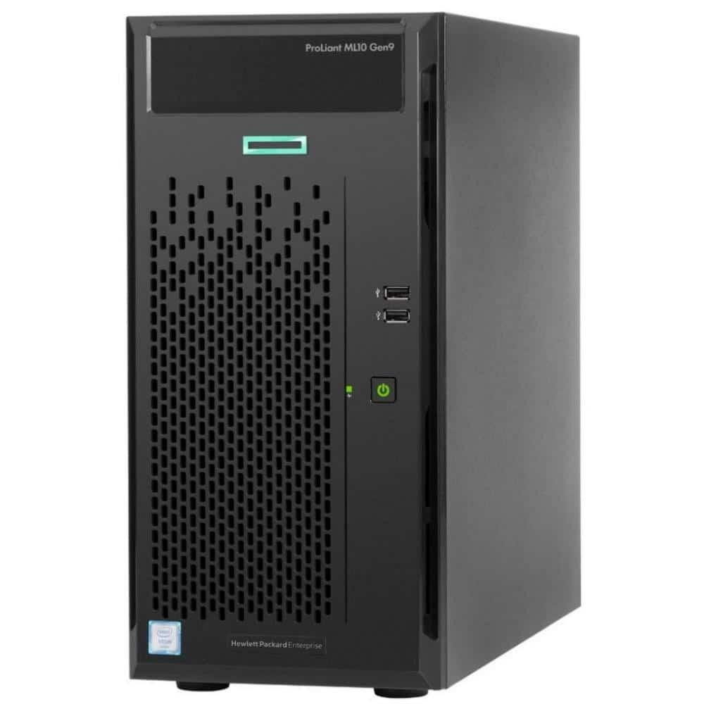 Kassenhardware Server - Kassenserver in schwarz für das Kassensystem - ProLiant ML10 Gen9 von Hewlett Packard Enterprise