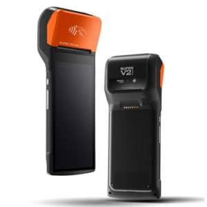 """Sunmi V2 Pro Mini mit Ladegerät als Kassensystem Erweiterung, Mobiles All-In-One Touchterminal, 6"""" Display"""