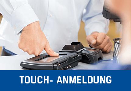 Kassensoftware Add-On Erweiterung Touch-Anmeldung des Personals an Kassenhardware