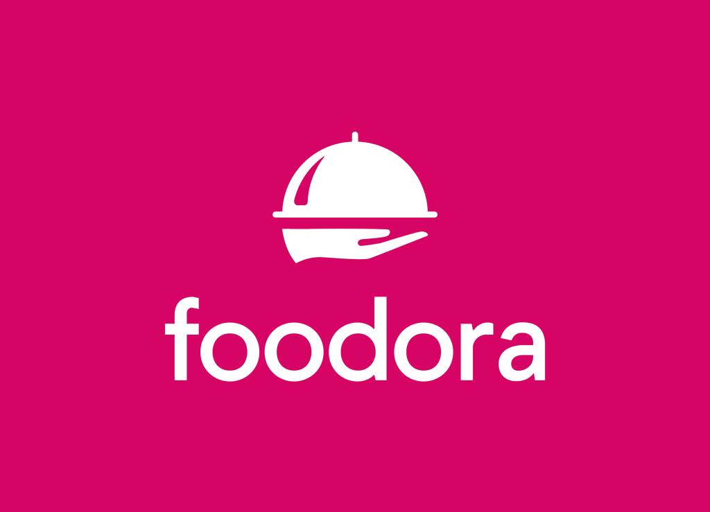 foodora Logo, kompatibeles Online-Lieferdienst, Lieferdienst Route berechnen, Lieferdienst Add-On Kassensoftware Erweiterung