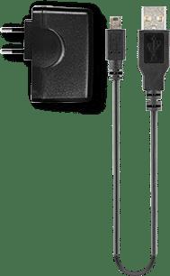 myPOS mini Adapter und Netzteil in schwarz für myPOS mobile Zahlungsterminals der Kassenhardware im Kassensystem