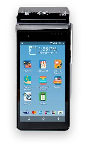 myPOS Smart n5, myPOS Gerät, Zahlungsterminals, myPOS - Mobile Zahlungsterminals, Kassensoftware, Kassensystem, Kassenhardware, GastroSoft