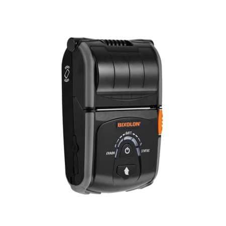 SPP R200III Upright mobiler Bluetooth Belegdrucker - Kassendrucker in schwarz als Kassenhardware für ein Kassensystem